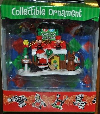 FISHER PRICE TOYS COLLECTIBLE ORNAMENTS SANTA