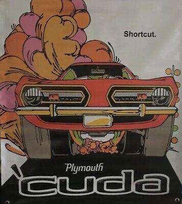 "Classic Keith Black Engines 38""x30"" Vinyl Banner Drag Racing Mopar NHRA."