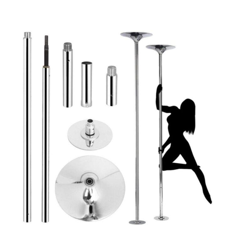 Yaheetech Portable Chrome Dance Pole