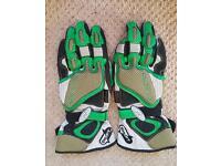Mens larg swift motorbike gloves