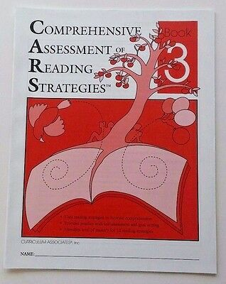 Comprehensive Assessment of Reading Strategies & Comprehension Skills 3rd Grade