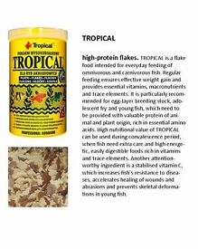 New Prices !!! TROPICAL / OVO-VIT / ICHTIO-VIT / BIO-VIT / 500ML-100G