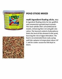 New Prices !!! MIXED BUCKET 5L/450G POND STICKS