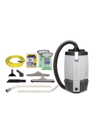 ProTeam ProVac FS 6, 6 qt. Backpack Vacuum w/ Restaurant Tool Kit 107363