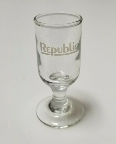Vintage Airline Glass Republic