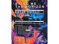 Bring Me The Horizon @ London 02 Arena 5th Nov x2 tickets £60 each