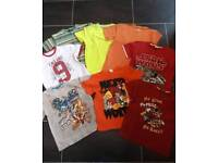 Age 9/10 Boys T shirts EXCELLENT CONDITION