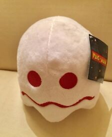Official PacMan soft white toy (New)