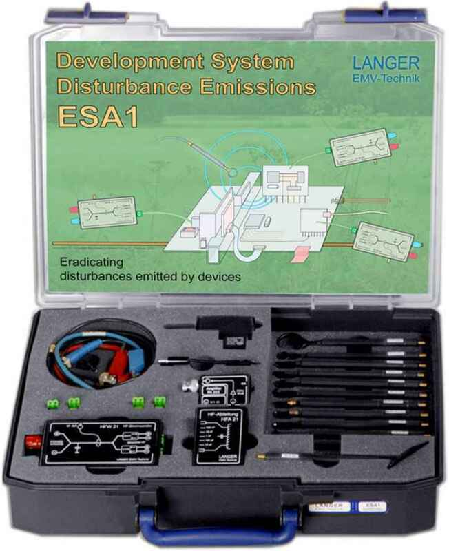 Langer EMV ESA1 Set Emission Development System 1GHz (EMC Tools and Probes)
