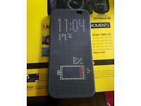 HTC one M8 phone + dot case