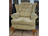 Queen Ann Fireside Chair