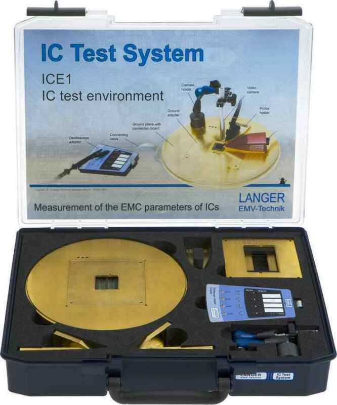 Langer EMV ICE1 Set IC Test Environment - EMC Tools & Probes Integrated Circuits