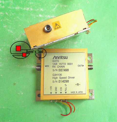 1×Anritsu G3H106 30KHz-18GHz 18dB RF 2.92mm High Speed Driver Wideband Amplifier