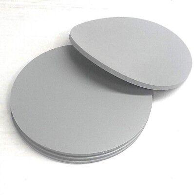 Silicone Rubber Sheet Solid 14 Thk X 8 Diam Disc Us Mil Spec 60 Duro Gray