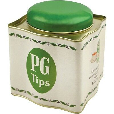 Kitchen Canister - PG Tips Tea Caddy, Retro style Tea Storage Caddy Tin