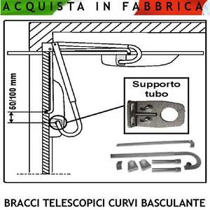Bracci telescopici curvi automatismo serranda basculante - Serranda elettrica casa ...