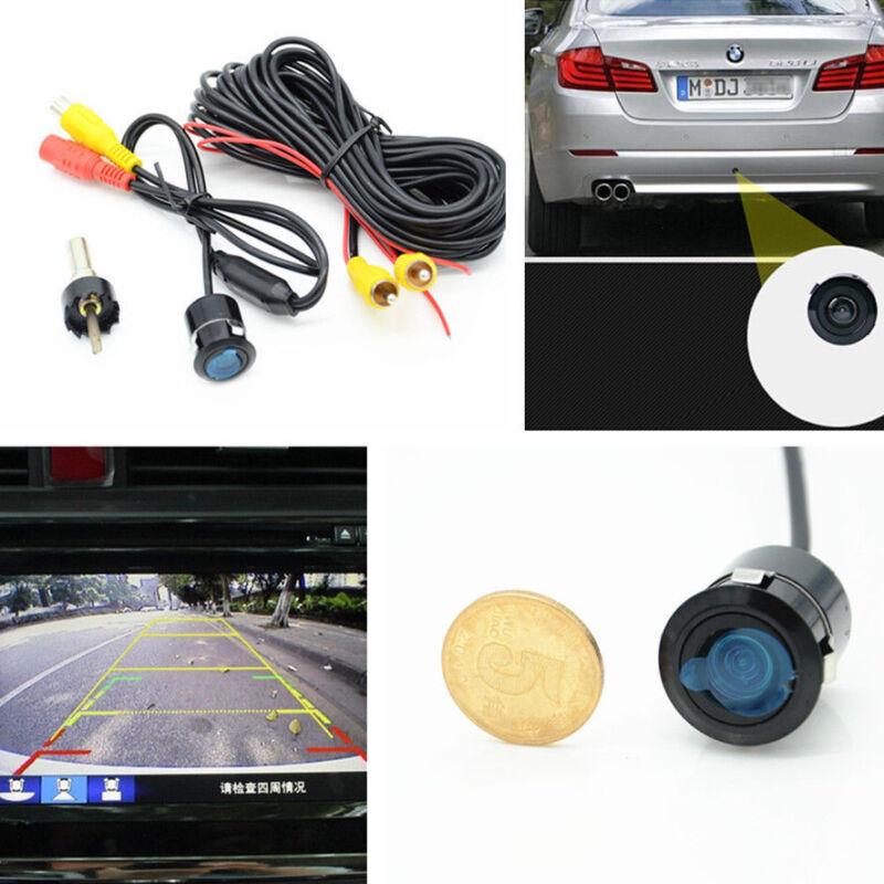 Car Suv Night Vision Reversing Parking Rear View Backup Waterproof 18.5mm Camera
