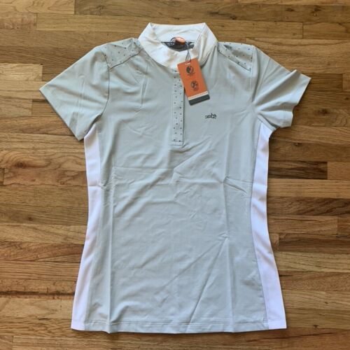 Schockemohle Ladies Aylin Show Shirt XS S L XL Equine MSRP $90 NEW! SHIPS FAST!