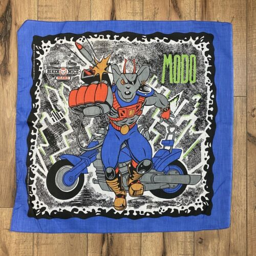 Vintage 1993 BIKER MICE FROM MARS Bandana - MODO -