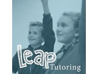 Leap Tutoring provides small group tuition led by Qualified Teachers - From £12 per hour