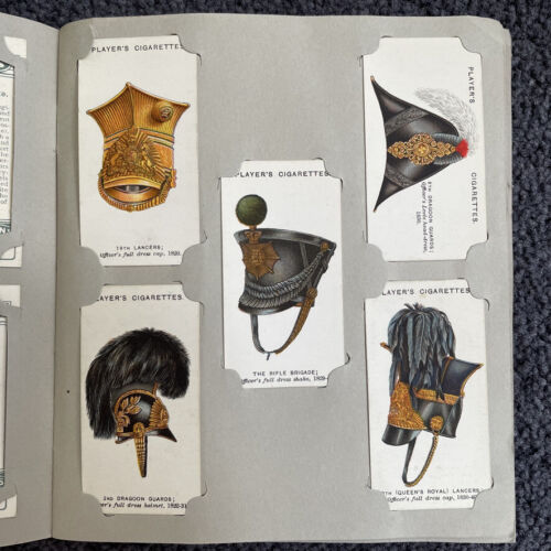 Cigarette Tobacco Card Album Military Headdress British Empire 50 Cards Player