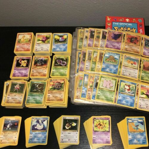 Original Pokemon 10 Card Lot - Vintage Wotc Sets!! 1st Edition, Rare, Holo Rare