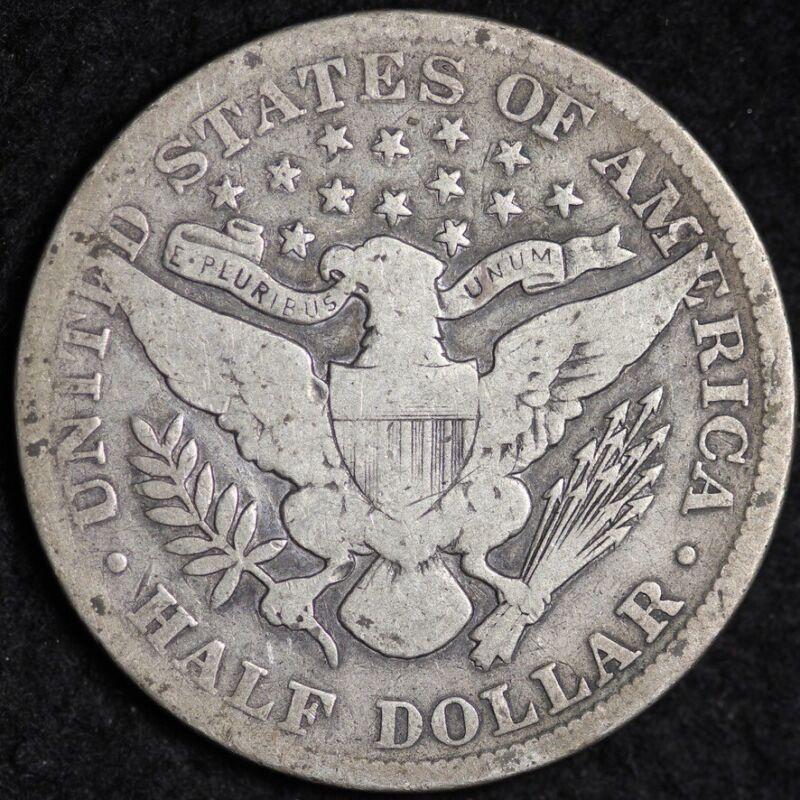 1903-S Silver Barber Half Dollar GOOD FREE SHIPPING