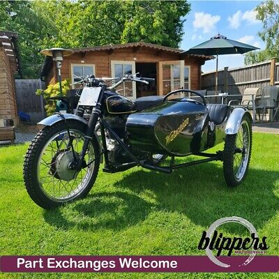 1959 Velocette Venom Trials with Watsonian Sidecar Combination Outfit