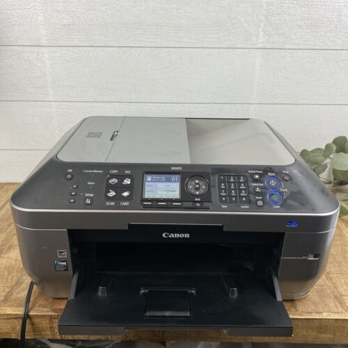 Canon PIXMA MX870 Wireless Office All-in-One Printer Scanner/Copier Works Great
