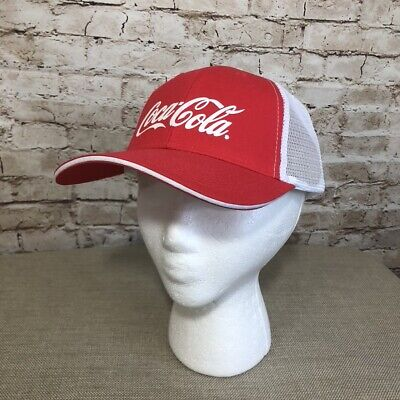Coca-Cola Mesh Baseball Cap Hat New Soda Pop Adjustable