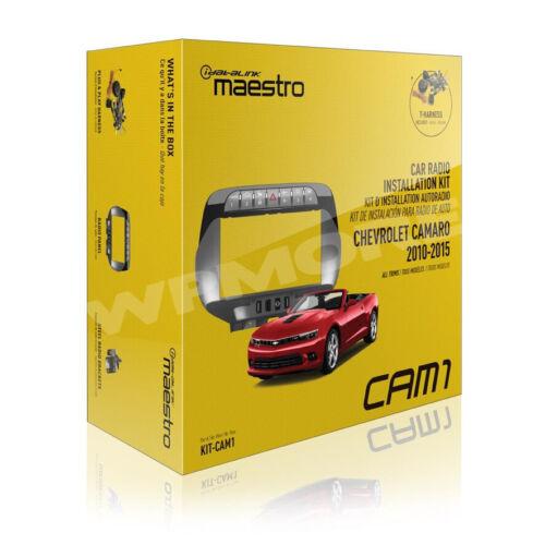iDatalink Maestro KIT CAM1 Dash KIT & T-Harness for Chevrolet Camaro 2010 - 2015
