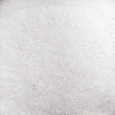 GLITTER - GLASSAND 1 kg. Dekosand, Glas, Sand, Glitzer, Glassand  weiß NATUR -99