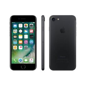 Matte Black iPhone 7 32GB swap for iPhone 7 Plus (Vodafone)