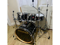 Fully Refurbished Premier Cabria Drum Kit - Free Local Delivery or Collection
