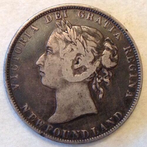 - Canada  Newfoundland  1899 50  Cents Victoria