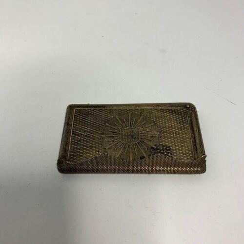 Antique Match Safe Dispenser Civil War Military Marked Smith Patent Jan 17, 1860