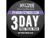 Active Women and Anytime Fitness Abingdon 3 Day Guest Pass