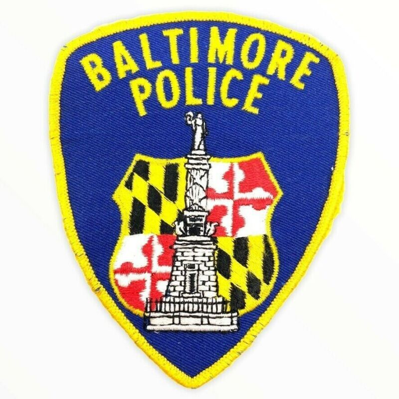 US Baltimore Maryland Police Patch