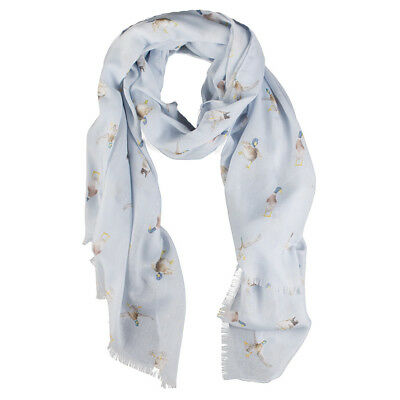Wrendale Designs - A Waddle And A Quack Duck Scarf With Free Gift Bag