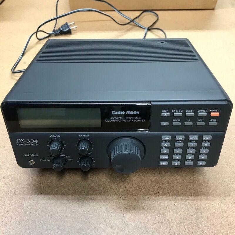 Radio Shack RS DX-394 Communications Receiver Radio LW MW(AM) SW LSB USB CW Ham