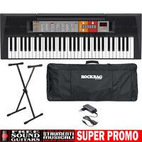 Psr F51 Tastiera Yamaha 61 Tasti + Supporto + Custodia + Alimentatore - Offerta - yamaha - ebay.it