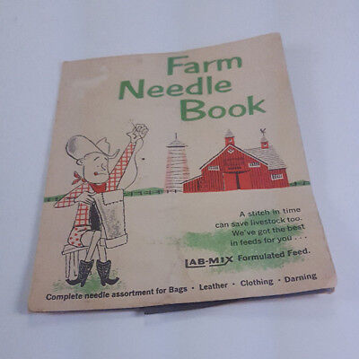 VINTAGE FARM NEEDLE BOOK CALF MANNA SUCKLE & LAB MIX FORMULATED FEED