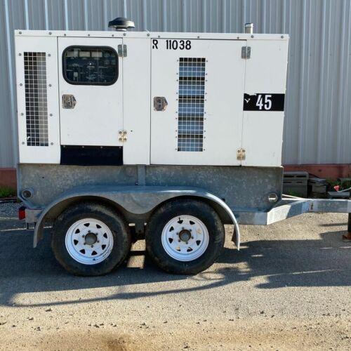 45kW Rental Packaged Diesel Generator