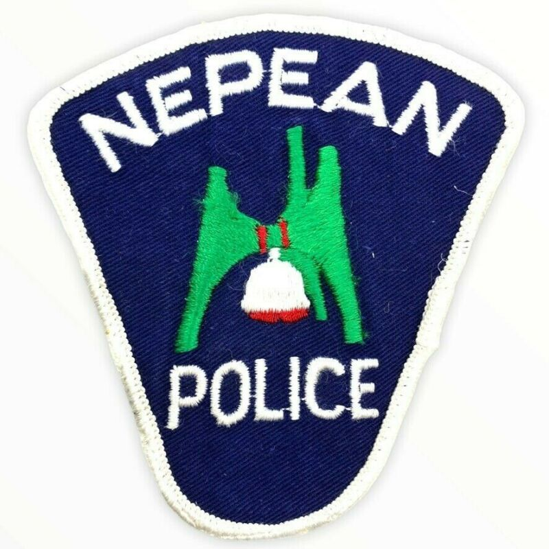 Canadian Ontario Nepean Police Patch