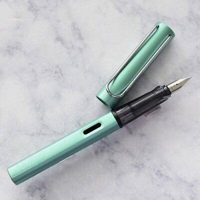 Lamy Al Star Blue-Green Fountain Pen Extra Fine EF Nib L32EF
