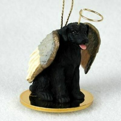 BLACK LAB LABRADOR ANGEL DOG CHRISTMAS ORNAMENT HOLIDAY Figurine -