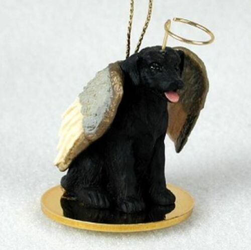 BLACK LAB LABRADOR ANGEL DOG CHRISTMAS ORNAMENT HOLIDAY Figurine Statue