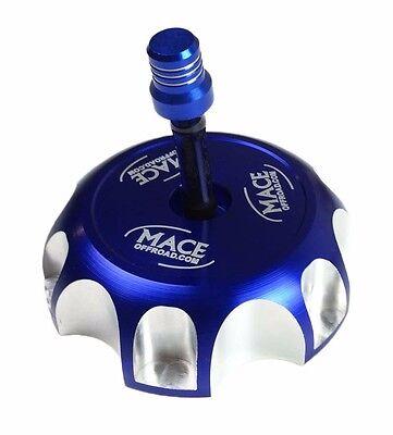 BANSHEE GAS CAP BLUE BILLET FUEL  RAPTOR  WARRIOR BLASTER TTR YFZ 450 R YZ WR
