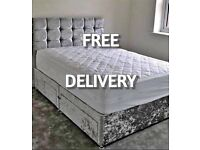 !* New UK manufactured DIVAN BEDS inc FREE HEADBOARD & DELIVERY