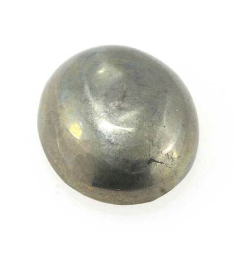 41.55 Cts Natural Golden Pyrite Oval Cabochon Loose Gemstone